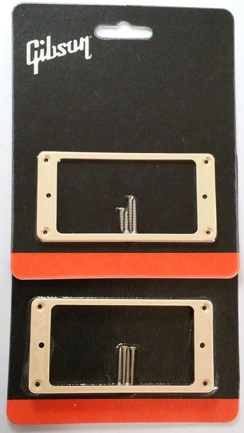 Humbucker Mounting Rings CAB Bone White Set of 2 fits Gibson® Guitars