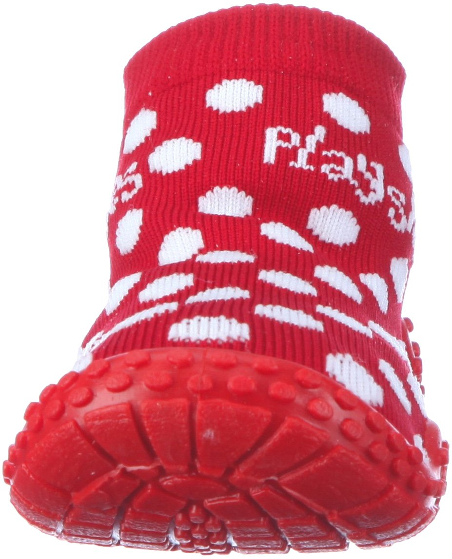Playshoes Girls Dots Collection Rubber Aqua Swim/Beach Sock Shoes (7 M US Toddler) by Playshoes (Image #4)