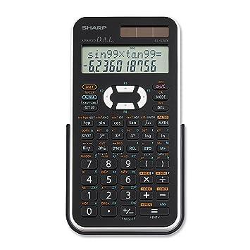 Sharp Electronics EL-520XBWH Engineering/Scientific Calculator