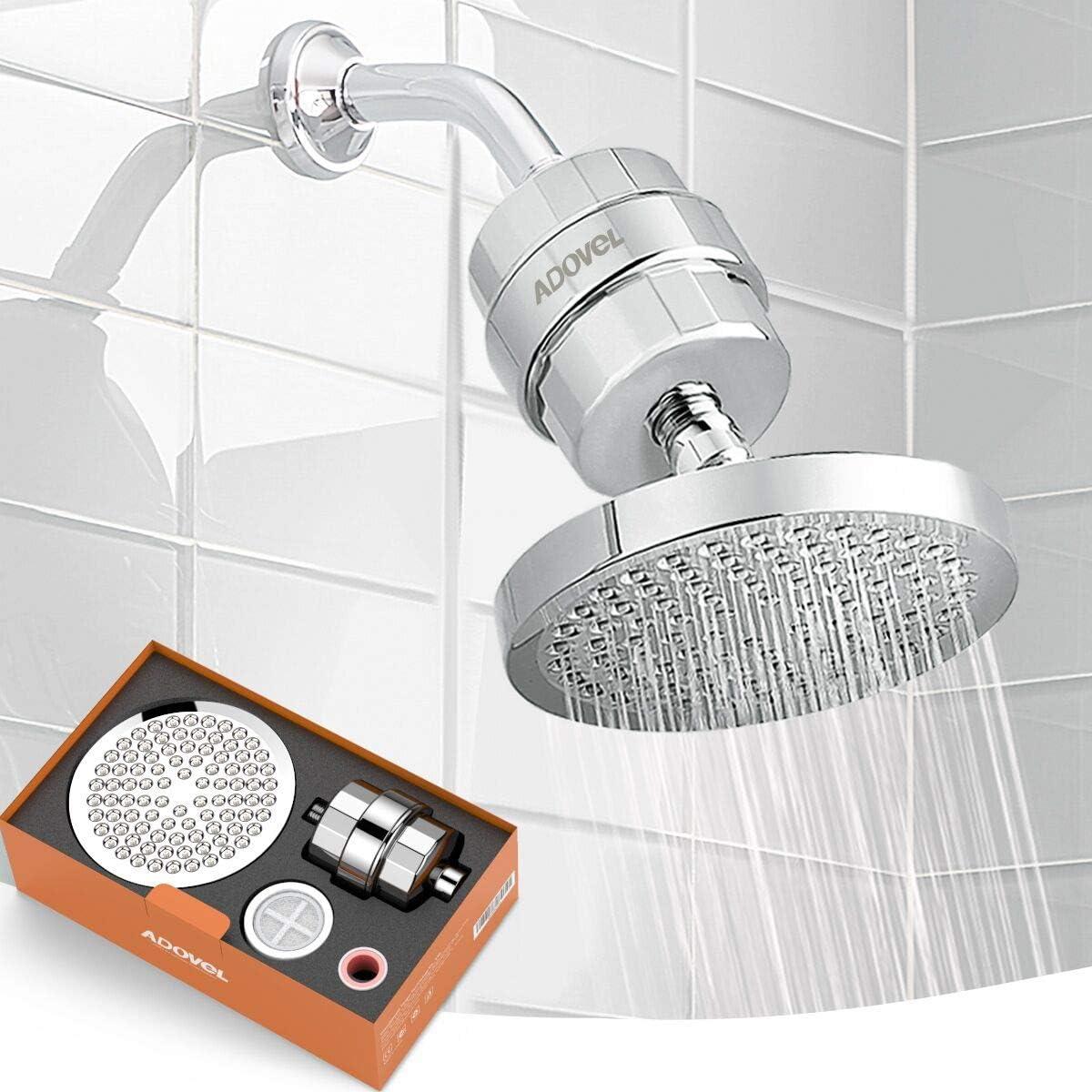 Shower Filter Head Hard Softener Stage 15 Chlorine High Purifier Cartridge