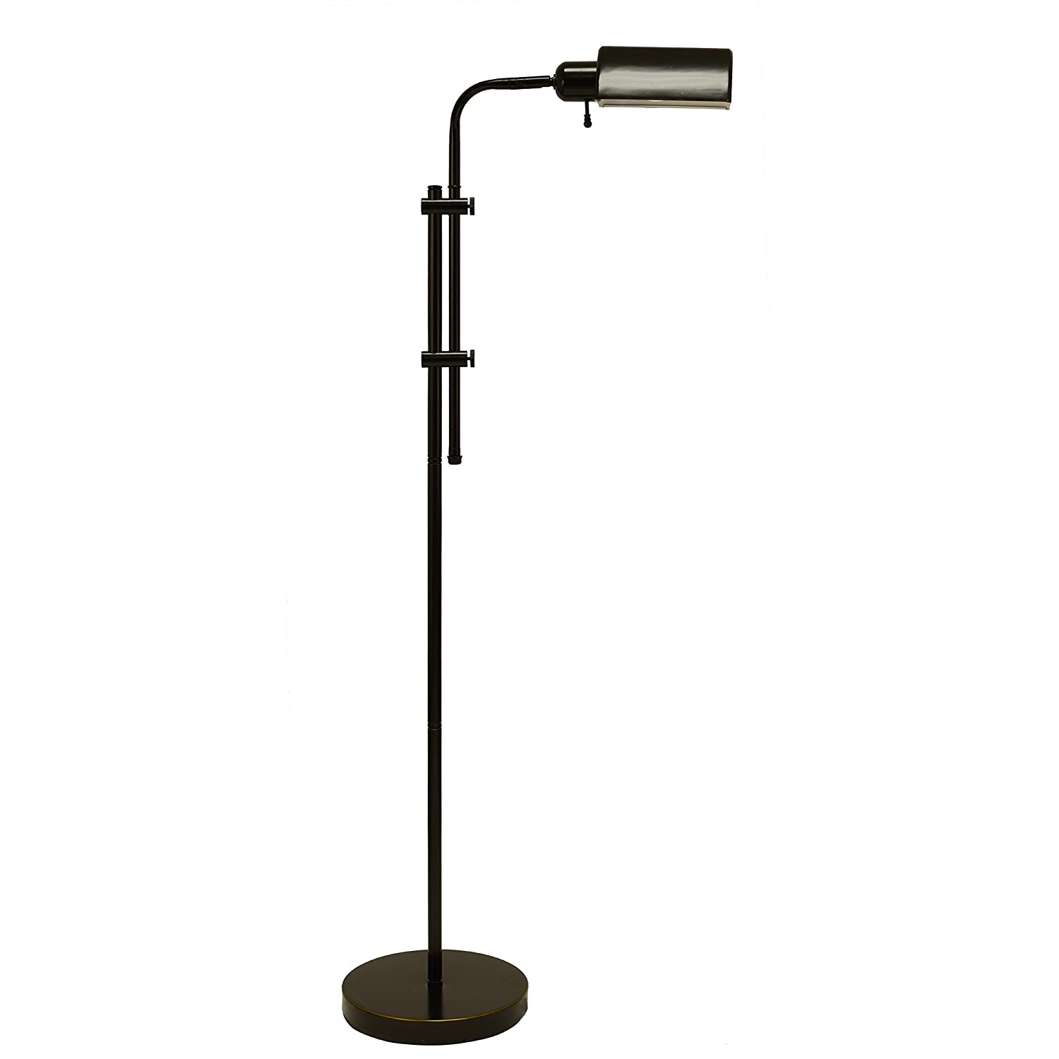 Adjustable Pharmacy Floor Lamp in Oil Rubbed Bronze - - Amazon.com