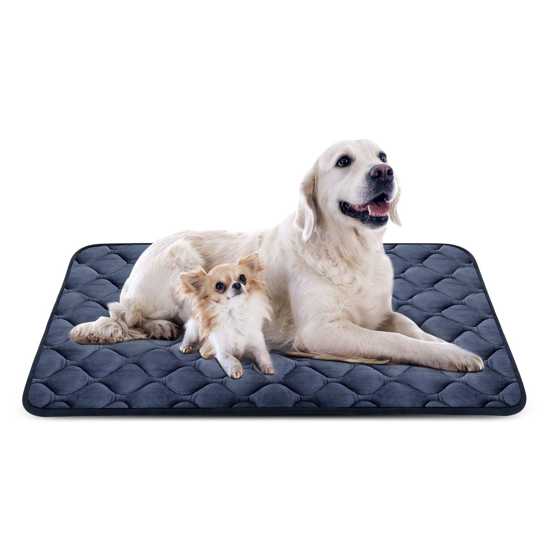 Hero Dog Cama Colchoneta Perro Grande Lavable XL, Cojines para Mascotas Antideslizante Vellón Almohadilla Suave
