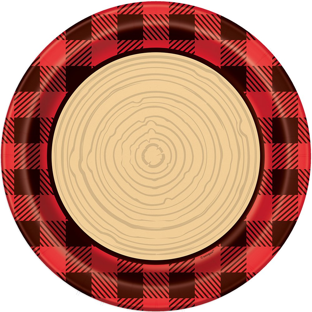 Buffalo Plaid Lumberjack Beverage Napkins, 16ct Unique 58291
