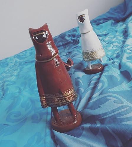 Amazon.com: Traveler Journey figure white and red: Handmade