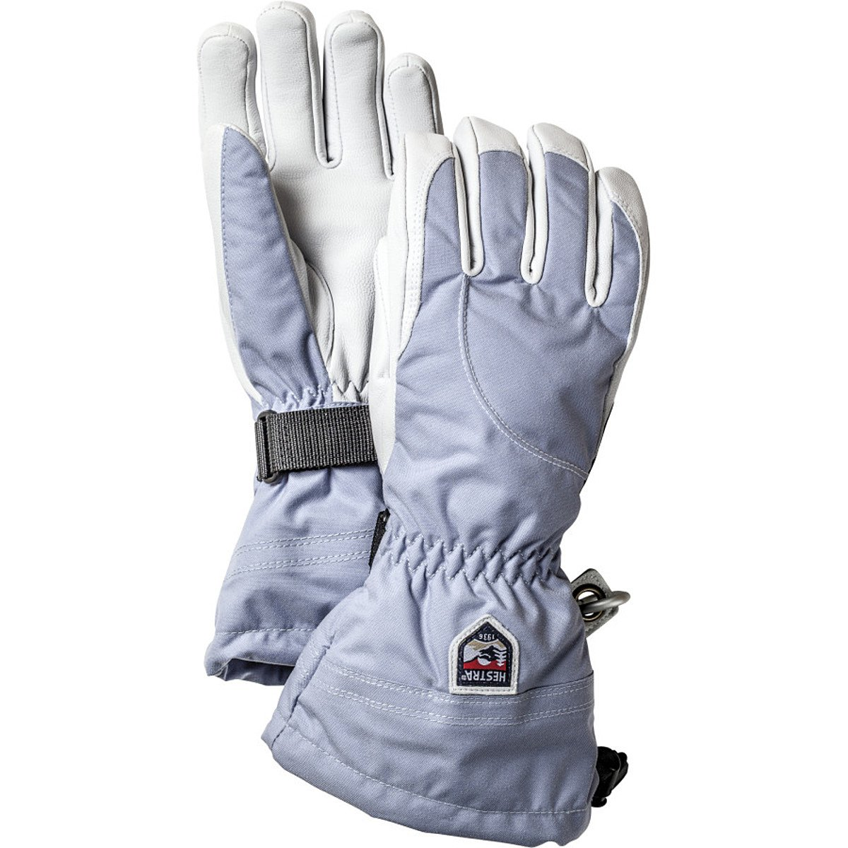 Hestra Heli Glove - Women's Ice Blue / Off White 6