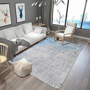 home carpet Blau und Weiß Fließende Sand Teppich Wohnzimmer ...