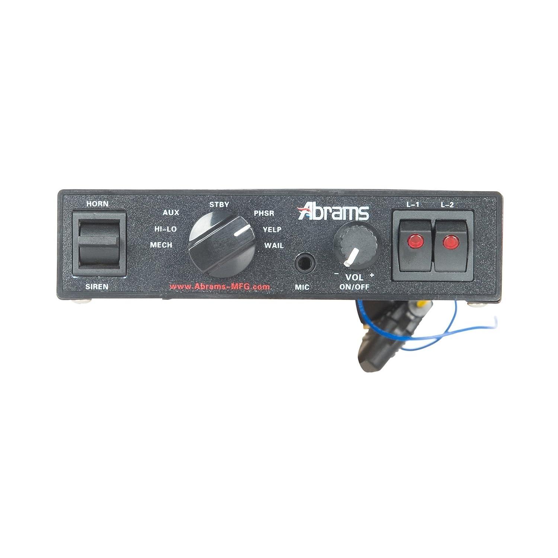 amazon com abrams 100 watt siren with mechanical tones camera rh amazon com Whelen Siren Wiring-Diagram abrams range siren wiring diagram