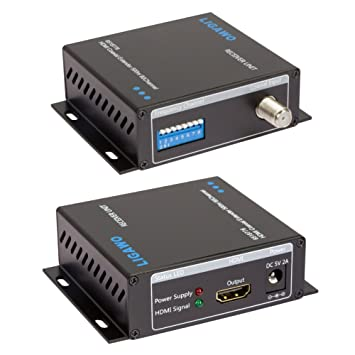 Ligawo HDMI Extender 500 m a través de Cable coaxial