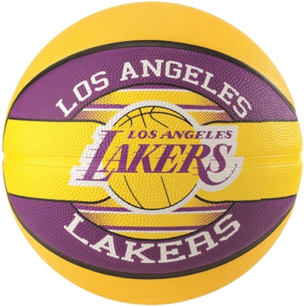 Spalding réplique la NBA Los Angeles Lakers équipe Ballon de basket taille 7