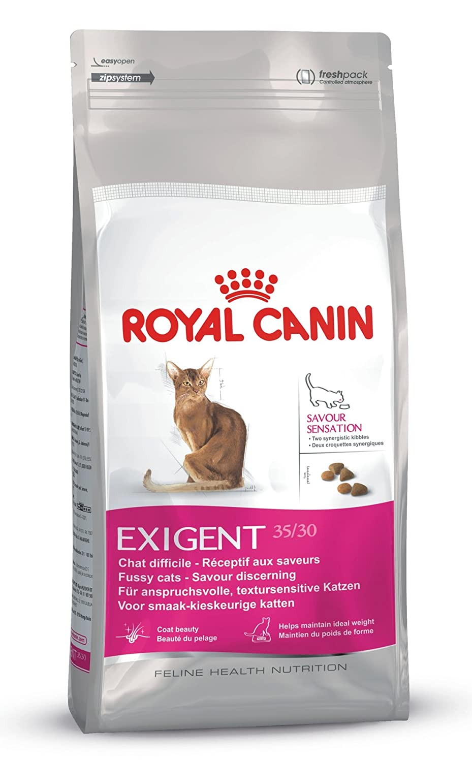 royal canin cat food exigent savour sensation dry mix 10 kg ebay. Black Bedroom Furniture Sets. Home Design Ideas