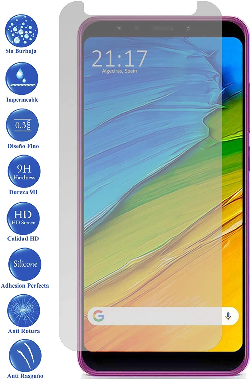 Todotumovil Protector de Pantalla Cristal Templado Vidrio 9H Premium para Xiaomi Redmi 5 Plus