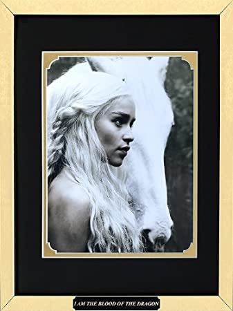 Amazon.com: Game of Thrones - Emilia Clarke as Daenerys Targaryen ...