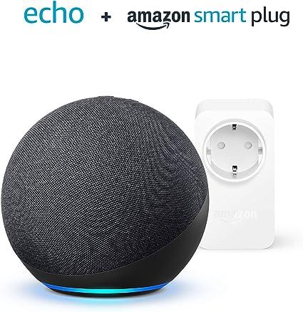 Der Neue Echo 4 Generation Anthrazit Amazon Smart Plug Wlan Steckdose Funktionert Mit Alexa Alle Produkte