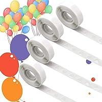 AIEX 4 Rollen / 1000 Stuks Lijmpunten, Ballonlijm Verwijderbare Zelfklevende Stippen, Dubbelzijdige Stippen Lijmtape…