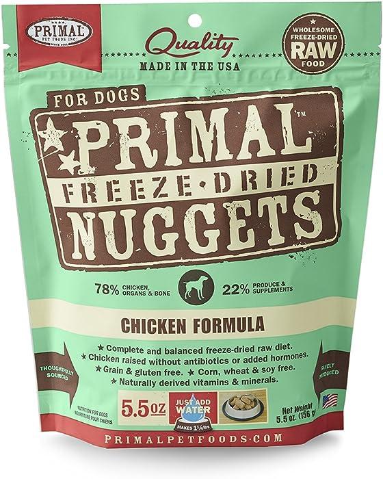 The Best Dry Dog Food Primal Nugget