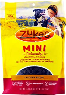 product image for Zuke's Mini Naturals Healthy Moist Training Treats 1 lb (Pack of 3, 3 Pounds total)