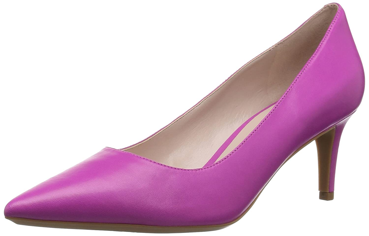 Nine West Women's SOHO9X9 Leather Pump B076FCYDKT 9.5 B(M) US|Pink