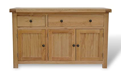 Credenza Per Stoviglie : Canton oak credenza in legno ante e cassetto armadietto