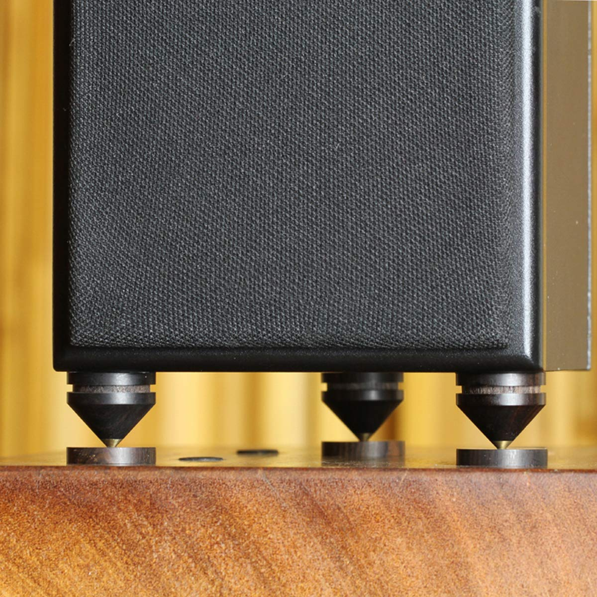 QIZIANG QIZIANG QIZIANG 4Pcs Ebenholz Lautsprecher Spike Isolation stehen Holz Kupfer Spitze Füße Spike mit 23mm Basis Pad Hot B07NWT9LBY   Up-to-date-styling  ea83ea