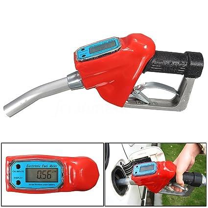 FLAMEER Dispensador De Boquilla De De Suministro Diesel De Gasolina Con Medidor De Flujo 1