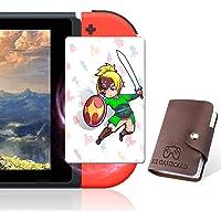 [Nueva versión] TPLGO 24 tarjetas NFC con Holer para la leyenda de Zelda Breath of the Wild Botw interruptor/interruptor Lite/Wii U con nueva tarjeta para el despertar de enlace