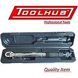 """Tool Hub 9453 Clé dynamométrique micrométrique 1/4 """", 2 - 24Nm."""