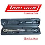 """Tool Hub 1/4""""Dr. Micrometer Torque Wrench, 2 - 24Nm."""