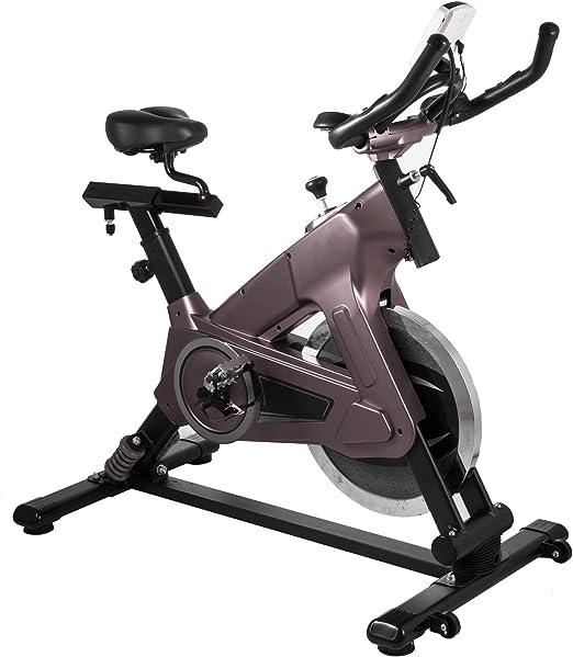 Bisujerro Bicicleta Estática de Spinning Volante 22 KG Bicicleta ...
