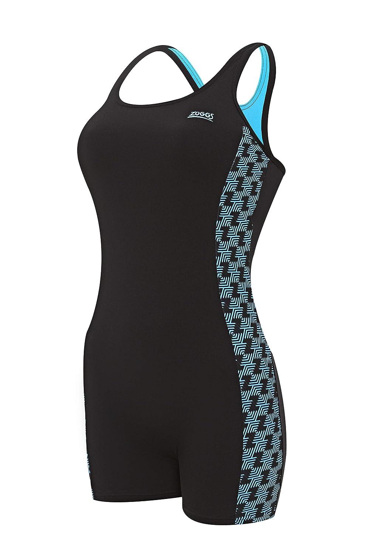 fa4f443c03 Zoggs Women's Chlorine Proof Solo Legsuit: Amazon.co.uk: Sports & Outdoors