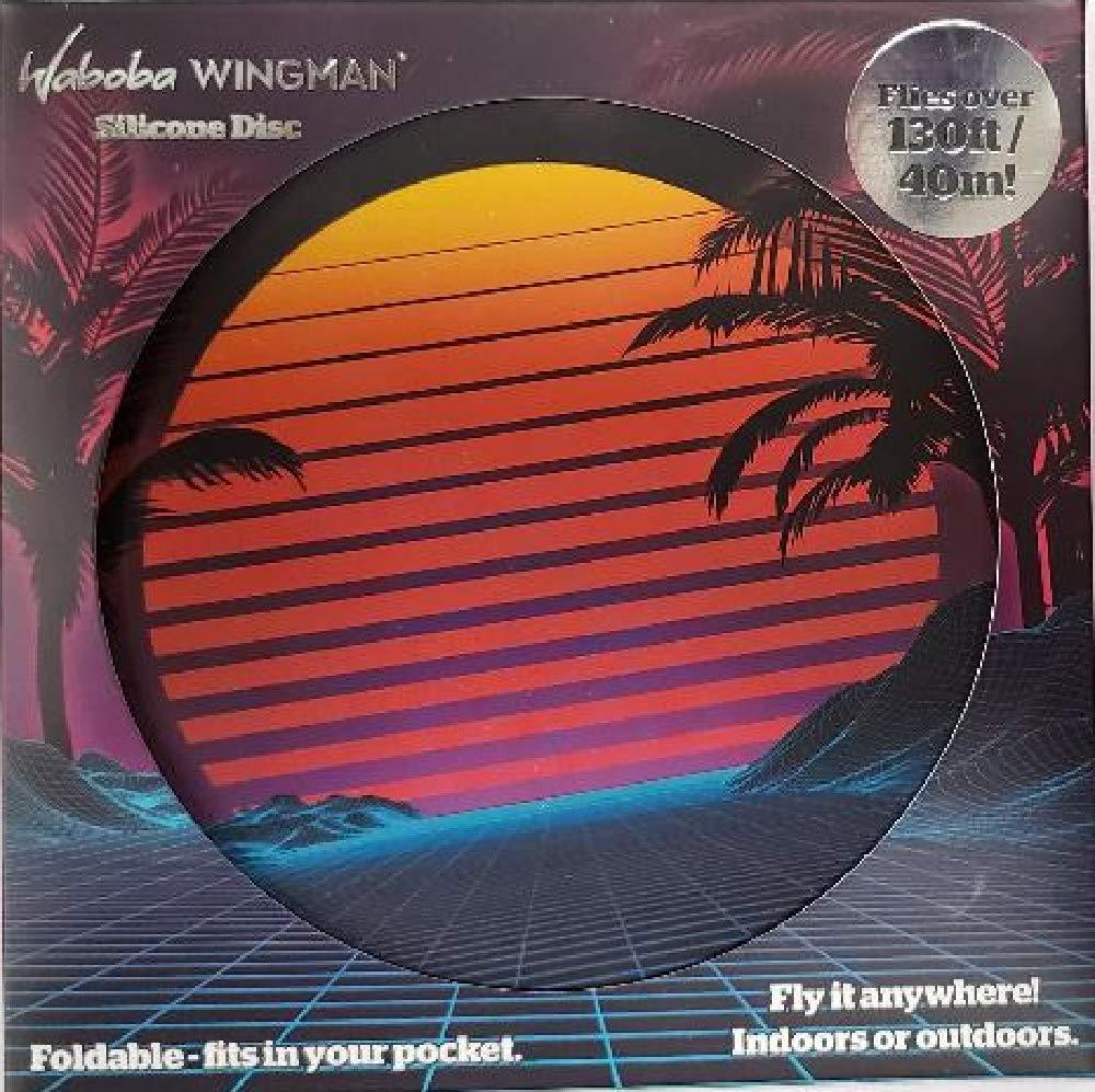 Sunset Waboba Unisex Wingman Silicone Disc OS