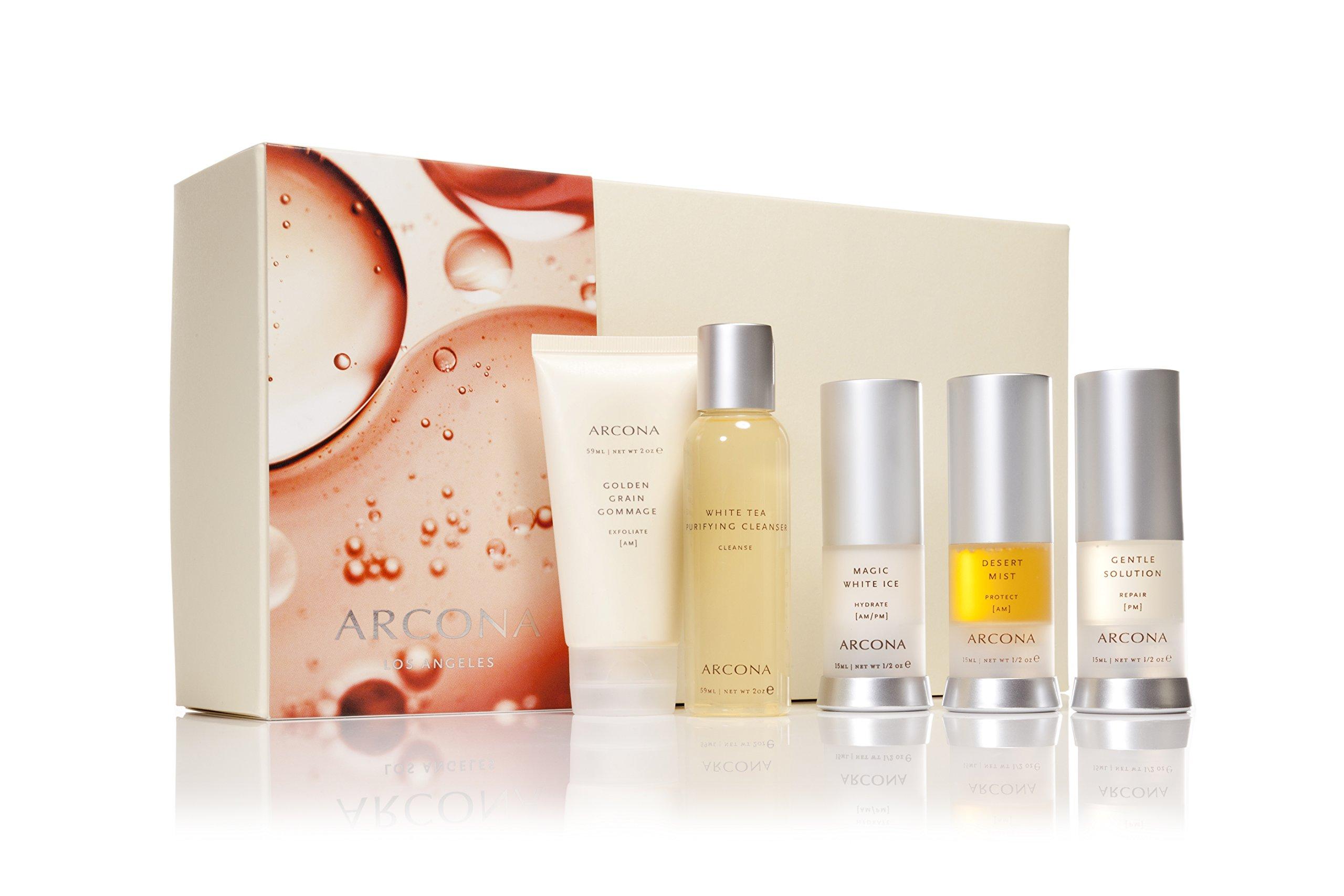 Arcona Basic Five Travel Kit, Normal Skin, 5 ct.