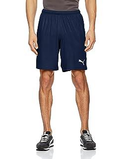 Puma Herren Liga Shorts Hose, Peacoat White, M: