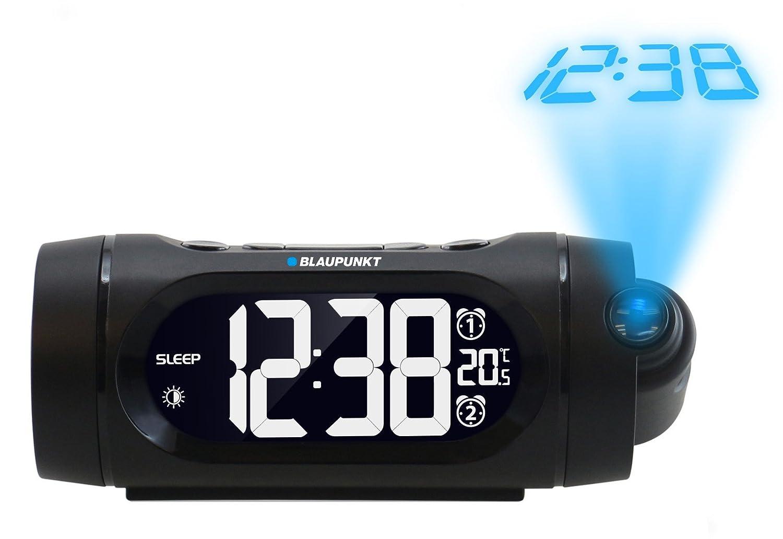 Blaupunkt CRP9BK Reloj Negro - Radio (Reloj, FM,PLL, LED, Negro, Tiempo, AAA)
