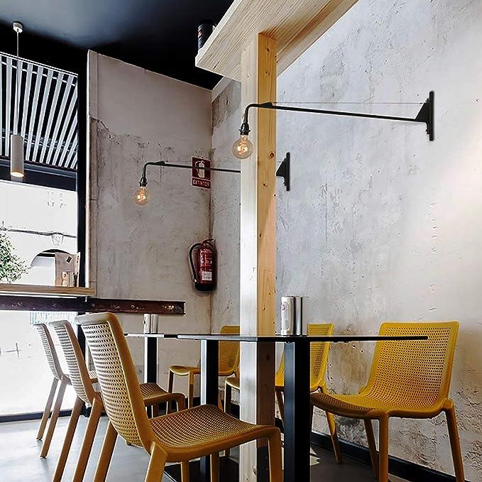 Amazon.com: PLLP - Lámpara de pared de estilo retro y retro ...