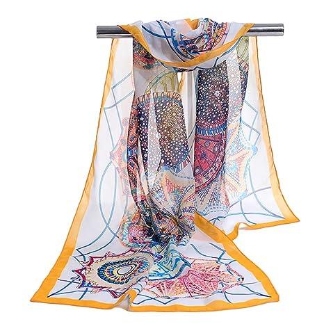 CCAILIS Mujeres Bufanda Sombrilla Protección Solar Estilo Europeo Toalla De Playa Al Aire Libre Fiesta Entretenimiento