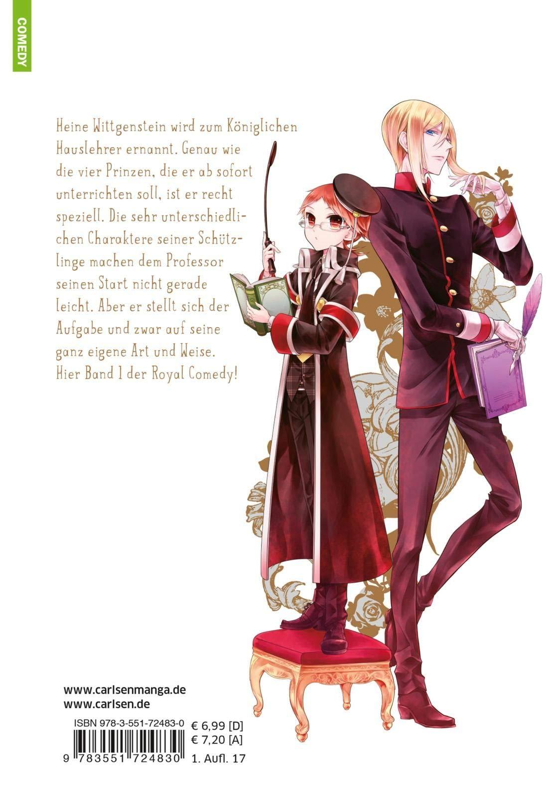 Carlsen Manga Deutsche Ausgabe The Royal Tutor  Band 5
