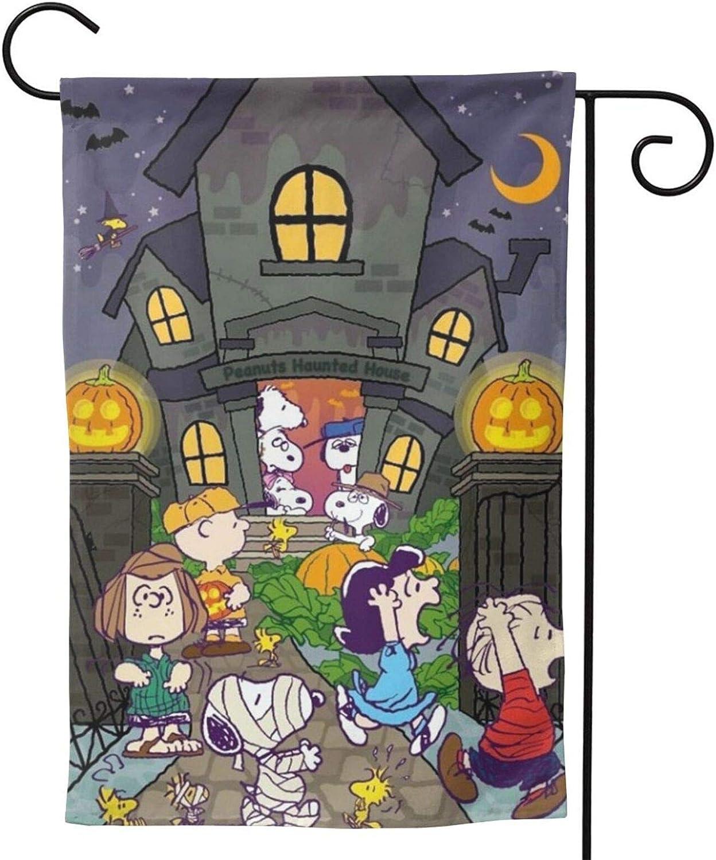 Stockdale Halloween Garden Flag Vertical 2-Sided Seasonal Chasing Mummies Flag for Courtyard