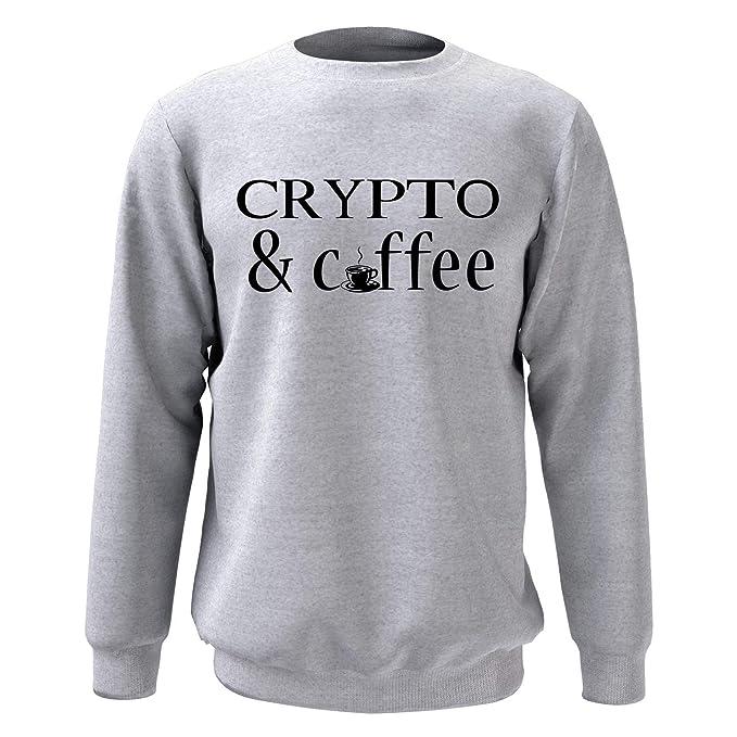 Comprar sudadera Crypto and Coffee
