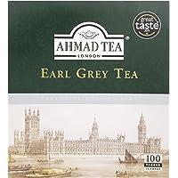 Ahmad Tea 1 Earl Grey Black Teabags, 100 Count
