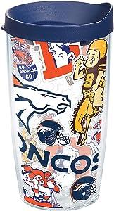 Tervis NFL Denver Broncos Insulated Tumbler, 16oz - Tritan, All Over