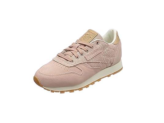 Reebok Cl Leather Ebk, Mujer: Zapatillas de Deporte para Mujer: Ebk, 112532
