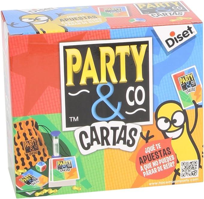 Diset 10045 - Juego Party & Co, versión Cartas: Amazon.es: Juguetes y juegos