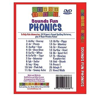 Workbook ay sound worksheets : Amazon.com: Sounds Fun Phonics DVD: Heidi Butkus: Movies & TV