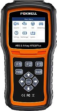 Automotive OBDII Car ABS SRS Code Reader Airbag SAS Engine Diagnostic Scan Tool