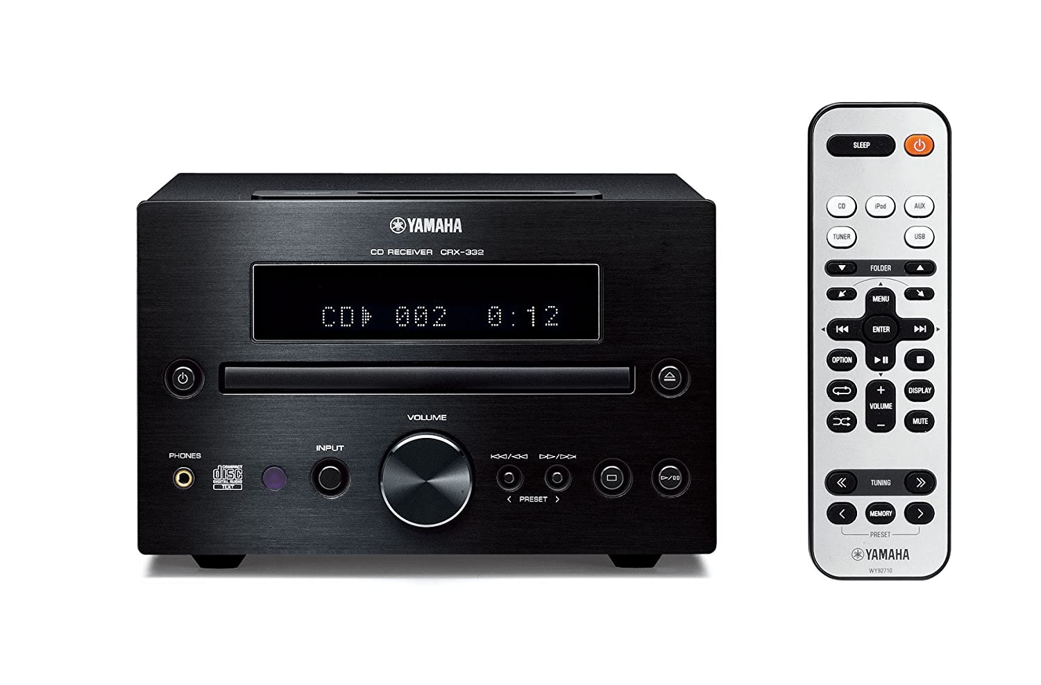 Amazon.com: Yamaha MCR-232BL Micro Component System (Black): Home Audio &  Theater