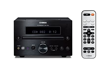 Amazon Yamaha CRX 332BL Micro Component Receiver Black Home