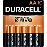 Duracell - CopperTop AA Alkaline Batteries - long lasting, all-purpose Double A battery for household and business - 10…