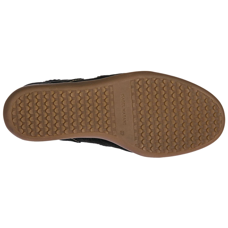 Isabel Marant Scarpe Sneakers Alte Donna in camoscio Nuove Bobby Nero   Amazon.it  Scarpe e borse 5147f56b619