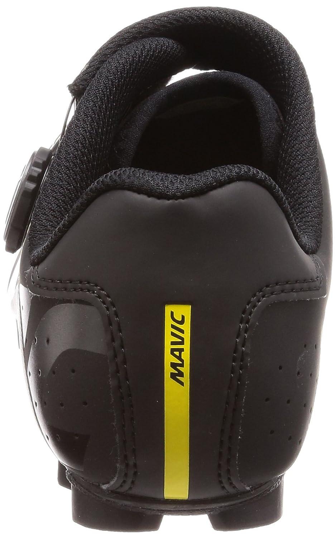 Mavic - Zapatillas de Ciclismo de Piel para Hombre Negro Negro: Amazon.es: Zapatos y complementos