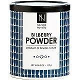 NordicNordic Bilberry Powder, Powerful Antioxidant Superfood (112 Gram)
